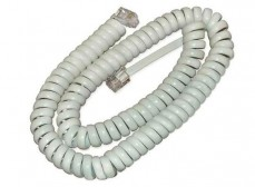 Шнур телефонный витой 4P4C 2м