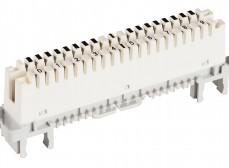 6036 1 005-00 Плинт 2/8 LSA-PROFIL, размыкаемые контакты, б/цветокода, маркировка 1..8