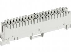 6089 1 002-06 LSA-PLUS Плинт 2/10, не размыкаемые контакты, маркировка 0-9