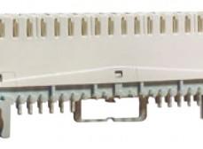 Плинт универсальный ПВТ-10Р-5е, 10 пар размыкаемые контакты 0...9
