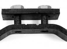 Консоль столбовая стальная