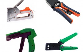 Инструменты для монтажа кабелей и окончаний
