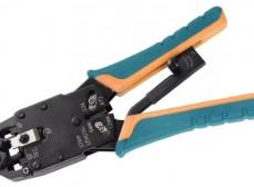 TM1-B11V ITK Инструмент обжим для RJ-45,12,11 с храп. мех верт. обжим