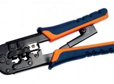 TM1-B11H ITK Инструмент обжим для RJ-45,12,11 с храп. мех. сине-оранж