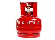 Баллон 5,0 л к газовой горелке с клапаном