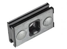 SC39C Зажим поддерживающий для 8-образных кабелей, диам.троса 4-9мм,5кН