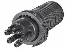 Муфта-кросс МКО-В3/CМ3-4/4SC-4SC-4SC/APC-4SC/APC-4ФТ4х3 (4 фитинга 4х3,0 мм)