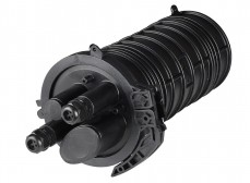 Муфта-кросс МКО-К6/CМ3-2/4SC-2SC-2SC/APC-2SC/APC-2ФТ4х3 (2 фитинга 4х3,0 мм) ССД