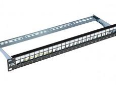 PP24-1UMF ITK 1U Модульная патч-панель FTP, 24 порта