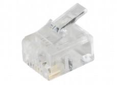 CS3-2C3U ITK Разъём RJ12 UTP для кабеля кат.3, 6P4C