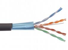 BC3-C5E04-339 ITK Каб. вп ШПД F/UTP, кат.5E 4х2х0,48мм solid, LDPE, 305м
