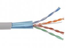 BC1-C5E04-311 ITK Каб. вп ШПД F/UTP кат.5E 4х2х0,48мм solid PVC 305м сер