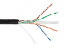 LC3-C604-139 ITK Каб. вп U/UTP, кат.6 4х2х23AWG solid, LDPE, 305м, чер.