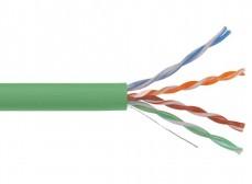 LC1-C5E04-122 ITK Кабель связи витая пара U/UTP, кат.5E 4x2х24AWG solid, LSZH, 305м, зеленый