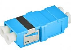 Адаптер (розетка) LC/UPC SM duplex SC тип бесфланцевый