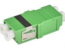 Адаптер (розетка) LC MM duplex SC тип бесфланцевый