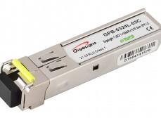 SFP WDM 1.25G Tx1550/Rx1310 20km LC DDM