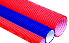 Трубы пластиковые гофрированные (ИЭК)