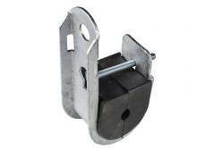 JHC 1520-W Поддерживающий зажим для круглых каб. диам.15-20мм.
