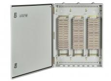 Шкаф распределительный телефонный настенный ШРН-В/450-Р-ПВТ-10(с плинтами) ССД