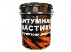 Мастика битумная гидроизоляционная (18 л)