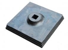 Подставка резиновая 350х350х80мм