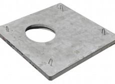Плита ОУП-6-2,0х2,0 опорная универсальная прямоугольная